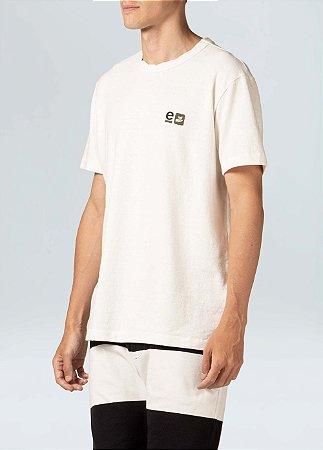 Camiseta Osklen Rustic Regenerete Life Masculina