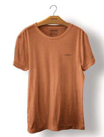 Camiseta Osklen Stone Sonus Masculina Caqui
