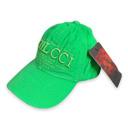 Boné Colcci Unissex Bordado Centro Verde