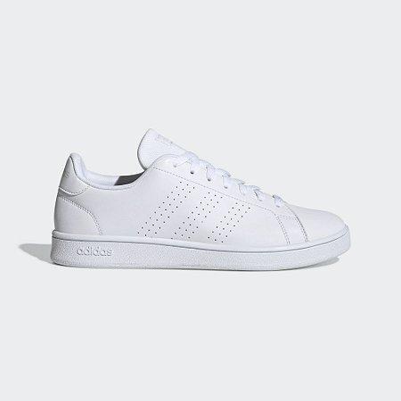 Tênis Adidas Advantage Base Feminino Branco EE7692
