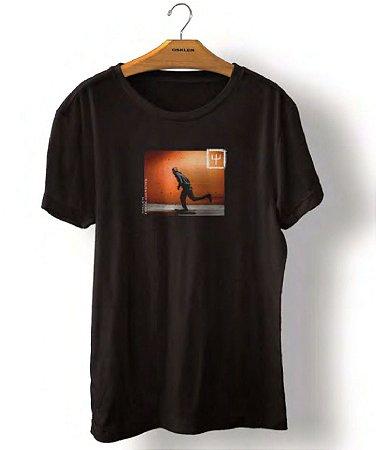 Camiseta Osklen Vintage Orange Wall Masculina