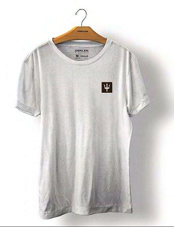 Camiseta Osklen Big Shirt Motocycle Masculina Branca