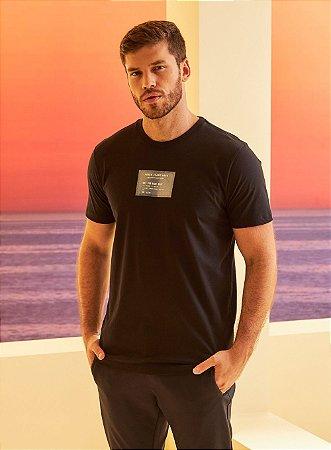 Camiseta Forum Unlimited Card Masculina Preta