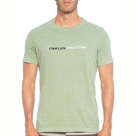Camiseta Osklen Regular Stone Amazônia Masculina
