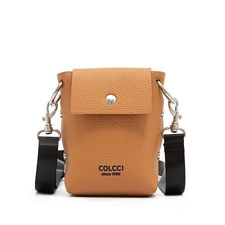 Bolsa Crossbody Colcci Logo Feminina Bege