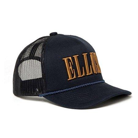 Boné Ellus Trucker Masculino Azul
