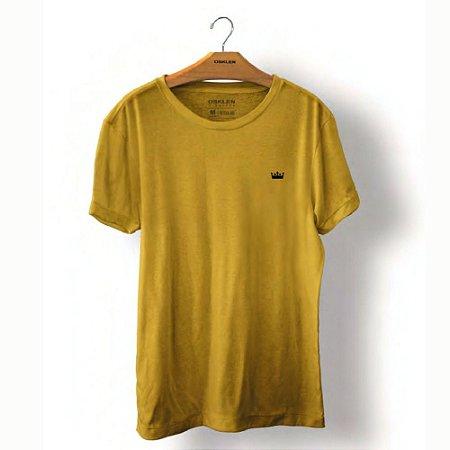 Camiseta Osklen Stone Coroa Colors Masculina Damasco