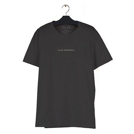 Camiseta Ellus Fine Light Classic Masculina Preta