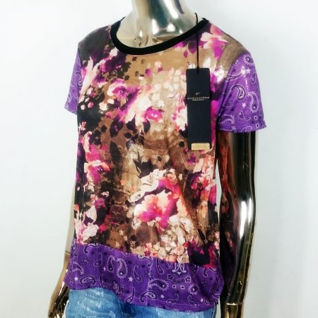 Camiseta Feminina Jersey Superfine Block Dec U Mc Ellus