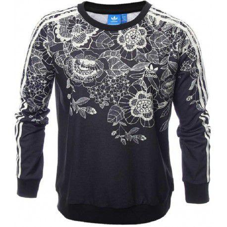 b82b68ec963 Moletom adidas Florido Sweater Feminino - Dom Store Multimarcas ...