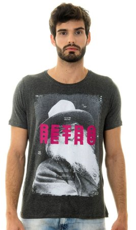 CAMISETA MASCULINA STREET PROOF Red Feather