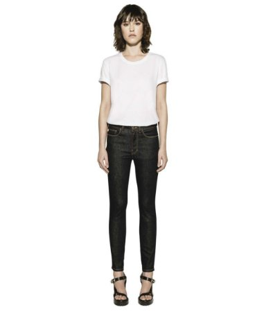 CALCA JEANS RAW ELASTIC (HIGHER) SK. PLAQUINHA