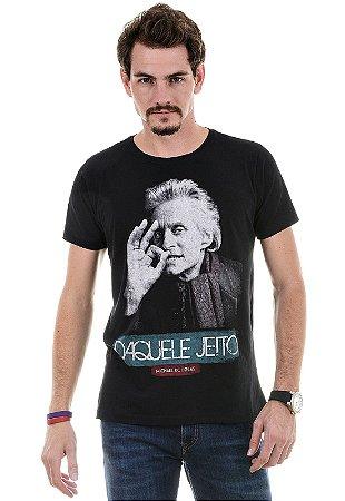 CAMISETA MASCULINA DAQUELE JEITO RED FEATHER