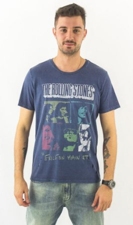 9118535039 CAMISETA ROLLING STONES FACES ELLUS ROCK EDITION - Dom Store ...