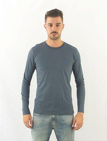 Camiseta Manga Longa Ellus Azul