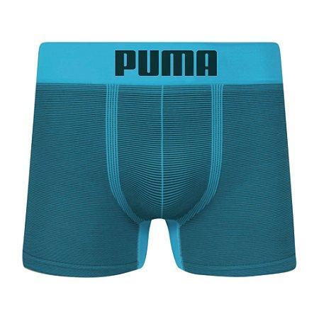 74b0913f10 Cueca Boxer Puma Sem Costura Turquesa - Dom Store Multimarcas ...