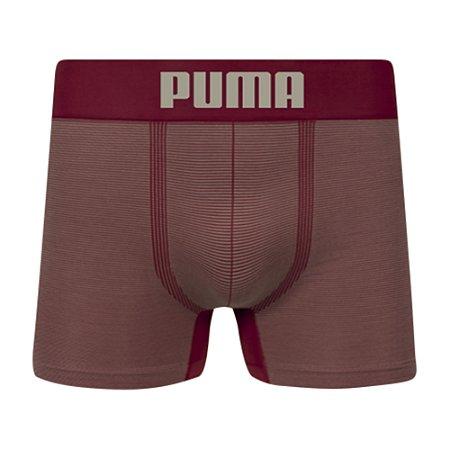 Cueca Boxer Puma Sem Costura Vermelha
