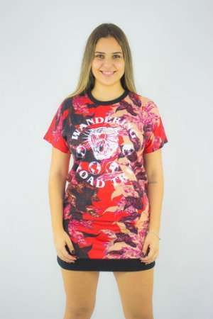 VESTIDO ELLUS CO FINE FOREST WANDERING TEE DRESS