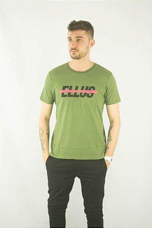 Camiseta Ellus 2ND Floor Logo Basic Targe