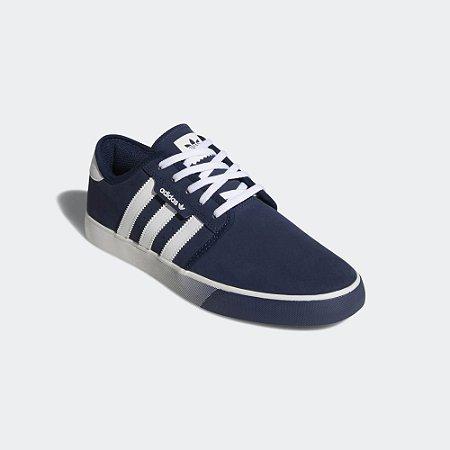 1d60817884 ADIDAS, SEELEY, AZUL - Dom Store Multimarcas | Vestuário | Calçados ...