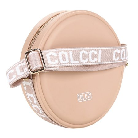 Bolsa Colcci Redonda quebek  Alça Personalizada rose
