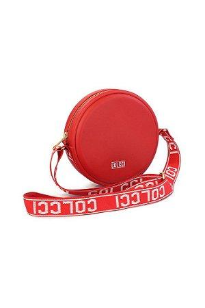 Bolsa Colcci Redonda quebek  Alça Personalizada vermelha