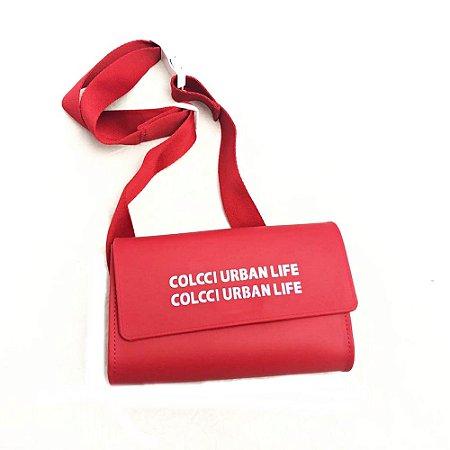 BOLSA COLCCI FIRENZE LIFE VERMELHA FEMININA