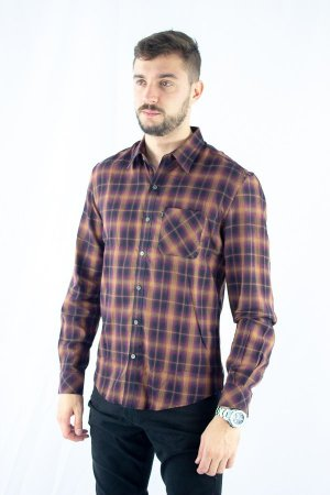 CAMISA ELLUS XADREZ STRONG LIGHT FLANNEL POCKETS CLASSIC