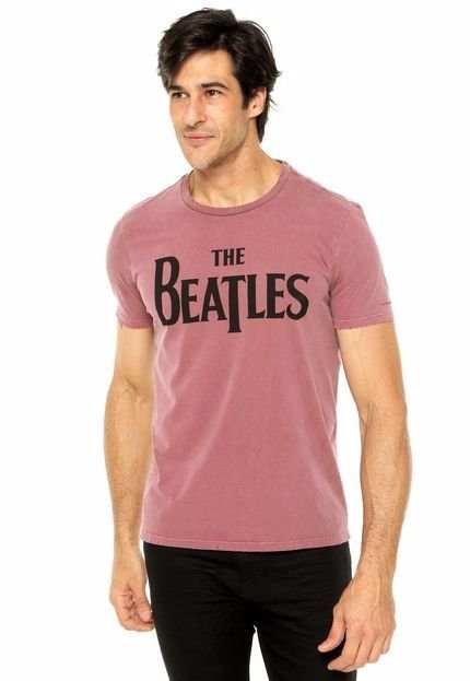T-shirt Cotton Vintage The Beatles Classic Mc Ellus Frete