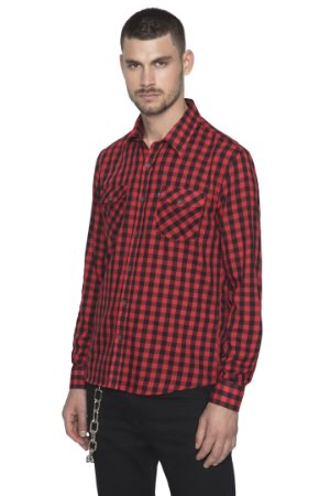 CAMISA ELLUS VOIL TWILL VICHY CHECK SLIM FRENCH ML