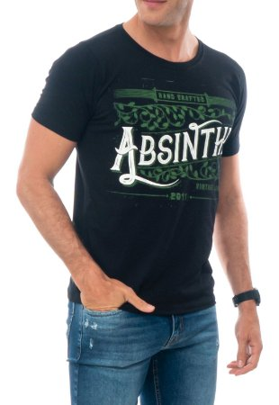 CAMISETA ABSINTHE RED FEATHER