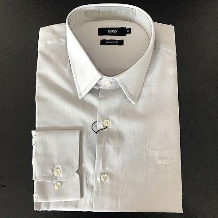 Camisa Social Hugo Boss Masculina Branca