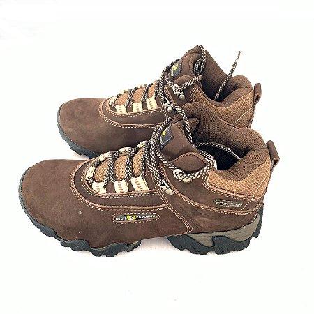 Bota feminina Boots Company Adventure Original nobuck