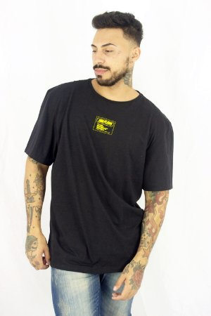 CAMISETA ELLUS SECOND FLOOR BE ORIGINAL LOGO AMARELO MASCU