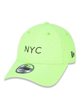 BONÉ NEW ERA FLUOR 9TWENTY SIMPLE NYC VERDE