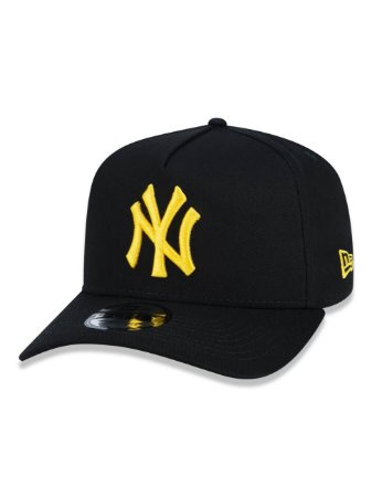 Boné NEW ERA 9FORTY A-FRAME MLB NEW YORK YANKEES PRETO