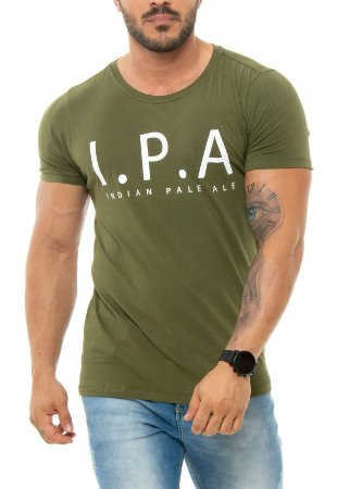 CAMISETA RED FEATHER IPA VERDE MASCULINA