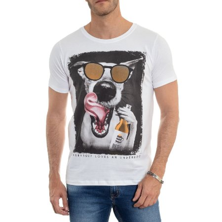 CAMISETA RED FEATHER UNDERDOG MASCULINA