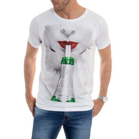 CAMISETA RED FEATHER CHAMPA GIRL  MASCULINA