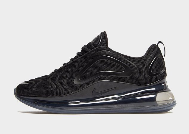 Tênis Nike Air Max 720 preto all black masculino