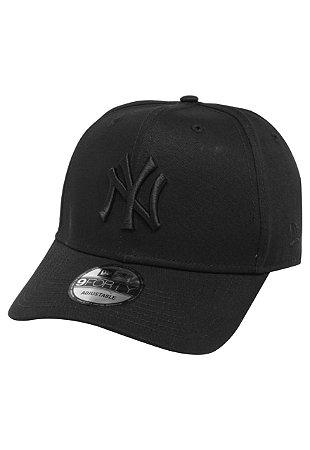 BONÉ NEW ERA BONÉ 9FORTY MLB NEW YORK YANKEES PRETO
