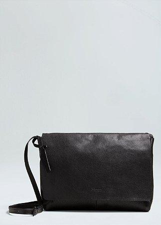 Bolsa Osklen Feminina Leather Crossbody E-Basics Bag