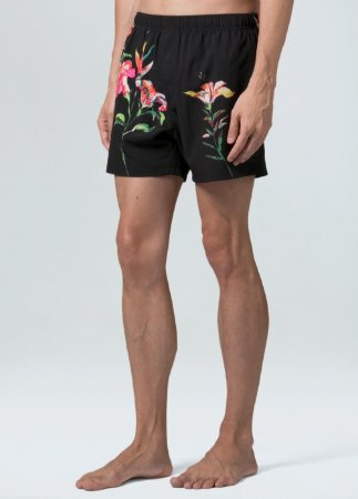 Short Osklen Beach Hibiscus