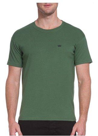 Camiseta Osklen Regular Big Shirt Coroa Xilo masculina