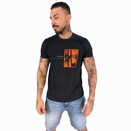Camiseta Ellus Cotton Fine Tropical Classic