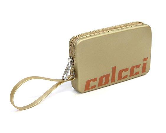 Case Carteira Colcci California Ouro