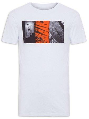 Camiseta Osklen Regular Stone Surf Blocks