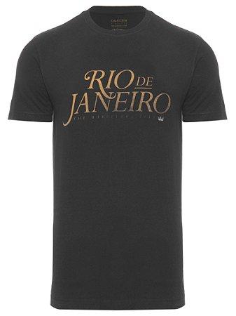 Camiseta Osklen Vintage Rio de Janeiro