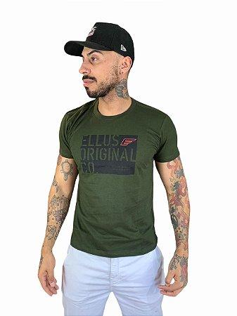 Camiseta Ellus Cotton Fine Registered Classic
