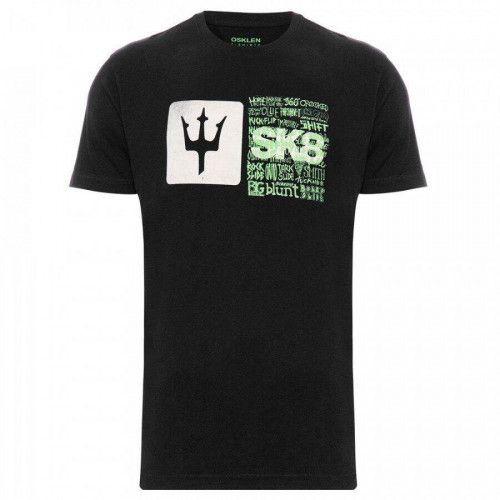 Camiseta Osklen Rough SK8 Maneuvers